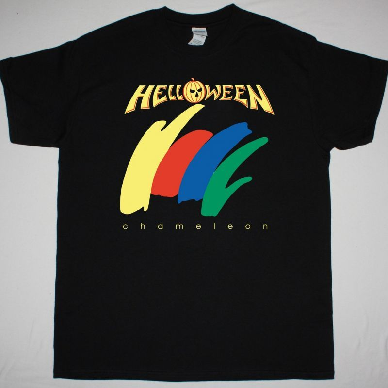 HELLOWEEN CHAMELEON NEW BLACK T-SHIRT
