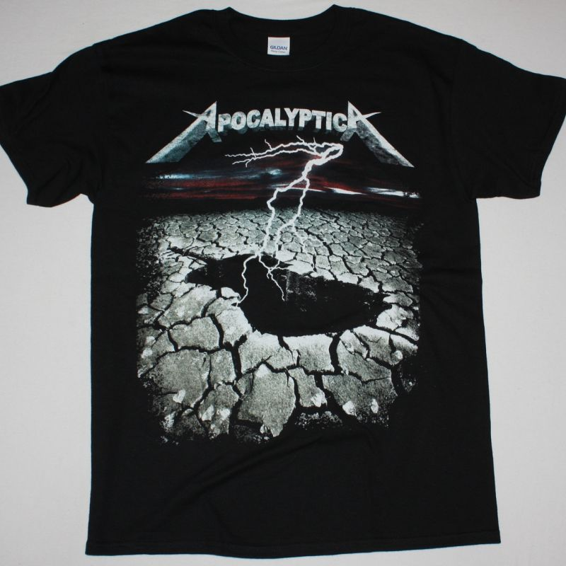 APOCALYPTICA SCROCHED EARTH NEW BLACK T-SHIRT