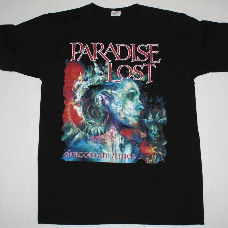 PARADISE LOST DRACONIAN TIMES'95 NEW BLACK T-SHIRT