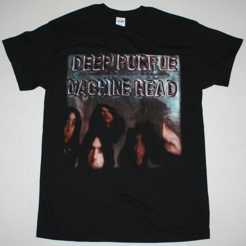 DEEP PURPLE MACHINE HEAD NEW BLACK T-SHIRT