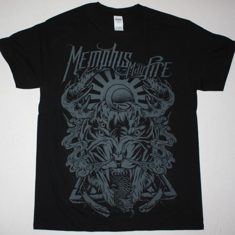 MEMPHIS MAY FIRE BEYOND THE SORROW NEW BLACK T-SHIRT