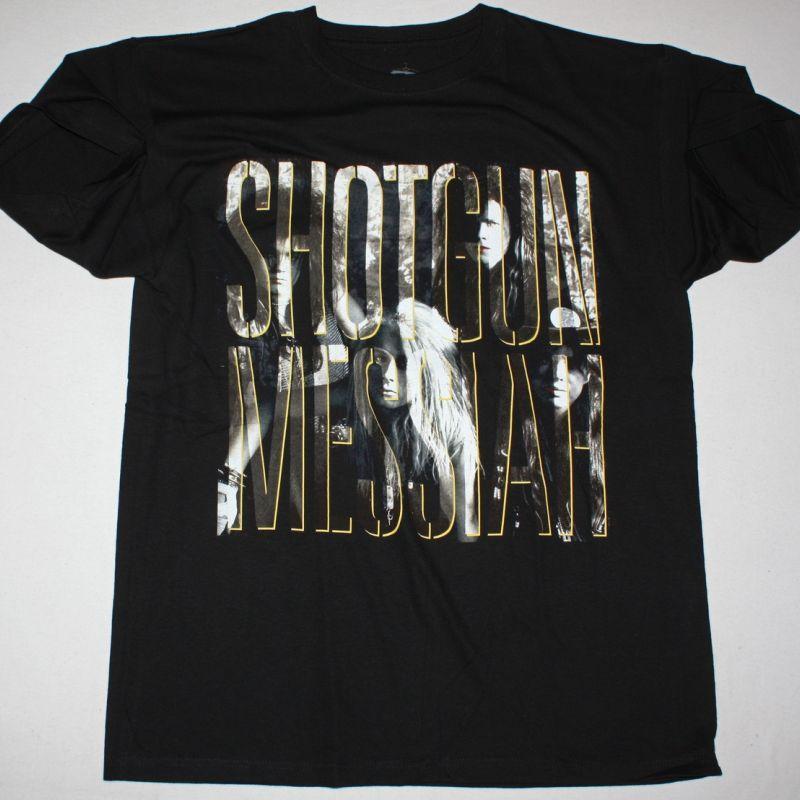 SHOTGUN MESSIAH SHOTGUN MESSIAH 1989 NEW BLACK T-SHIRT