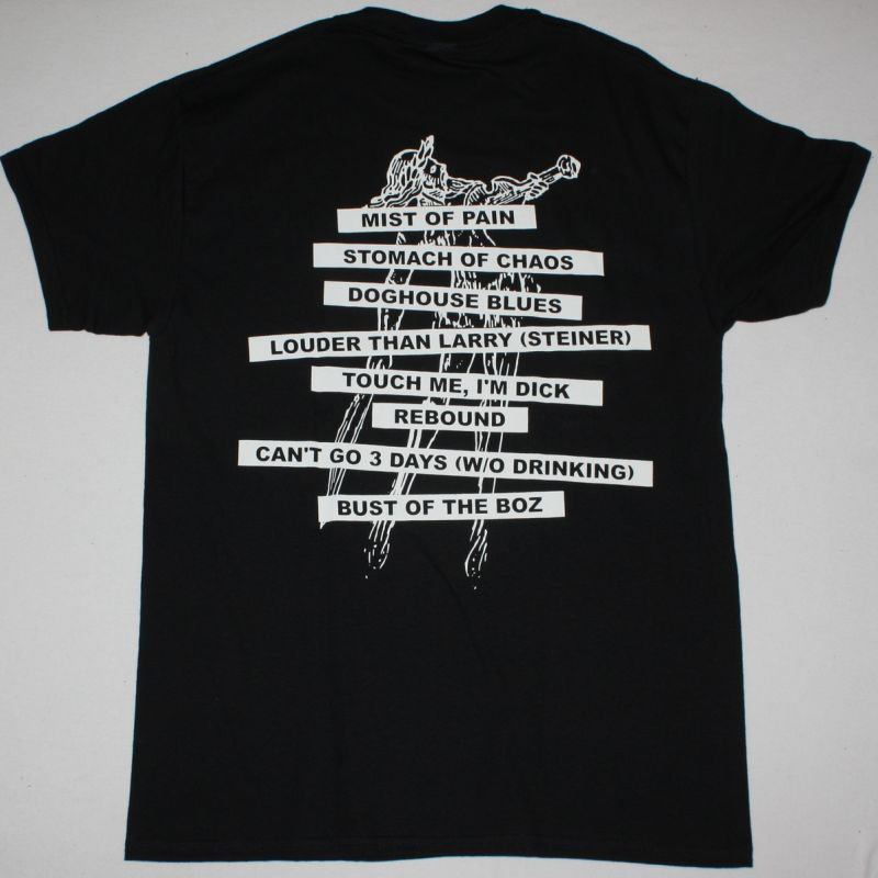 CITIZEN DICK SINGLES BAND NEW BLACK T-SHIRT