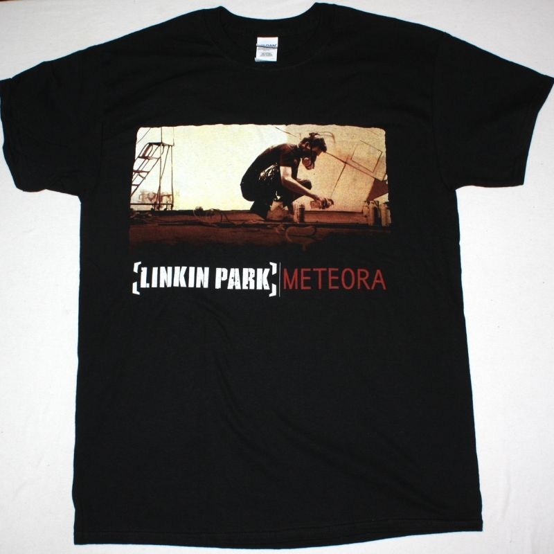 LINKIN PARK METEORA NEW BLACK T-SHIRT