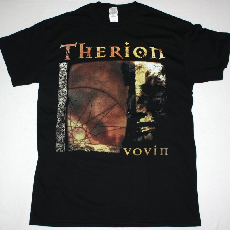 THERION VOVIN NEW BLACK T-SHIRT