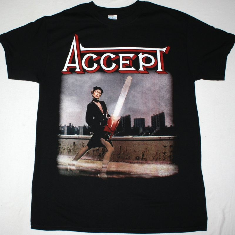 ACCEPT ACCEPT 1979 NEW BLACK T-SHIRT
