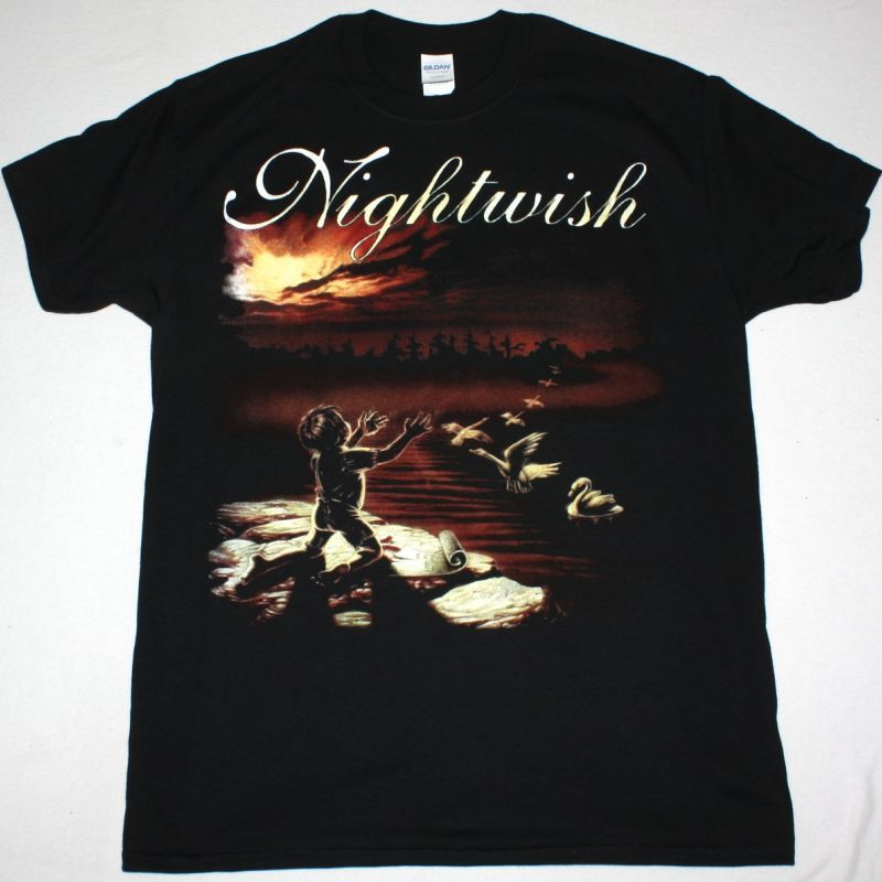 NIGHTWISH WISHMASTER NEW BLACK T-SHIRT
