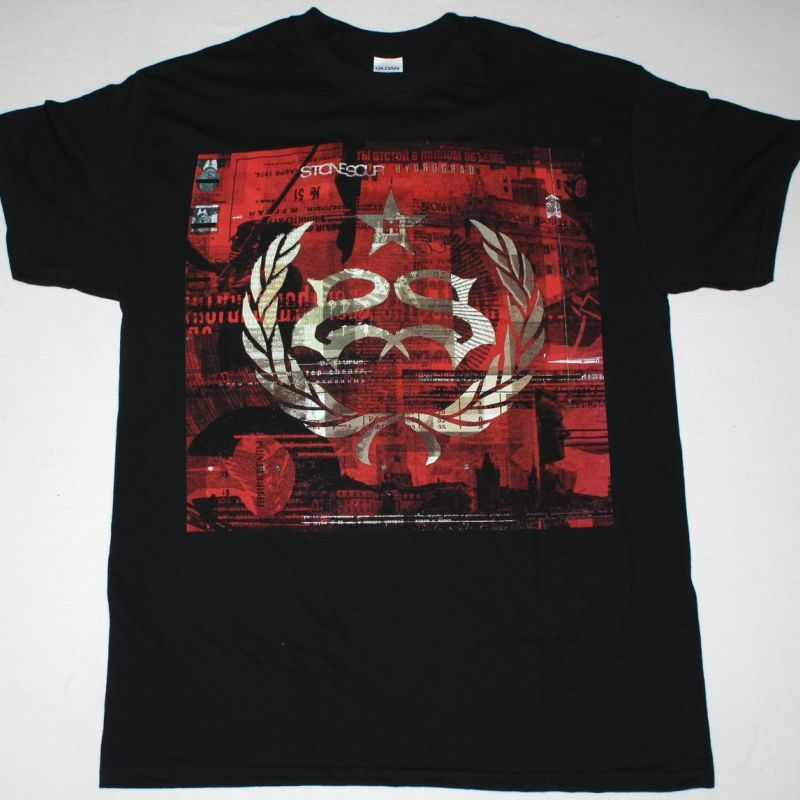 STONE SOUR HYDROGRAD NEW BLACK T-SHIRT