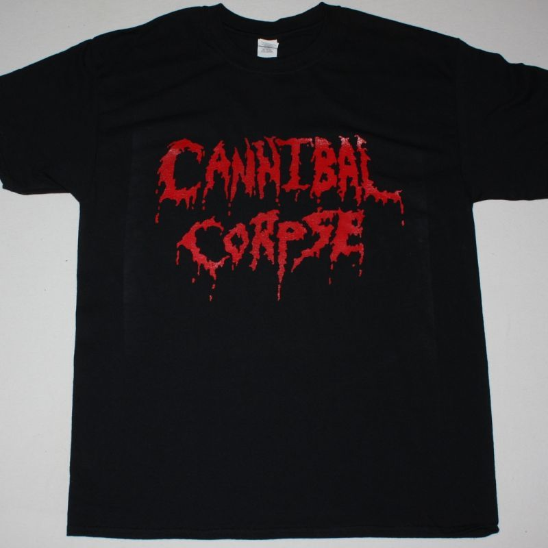 CANNIBAL CORPSE LOGO NEW BLACK T-SHIRT