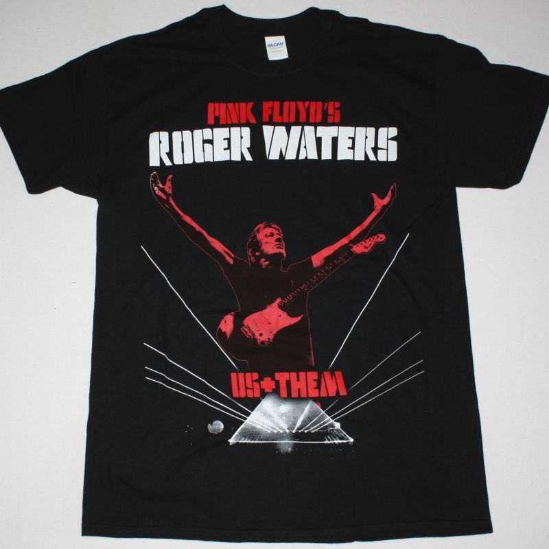 ROGER WATERS US+THEM TOUR 2018 NEW BLACK T-SHIRT