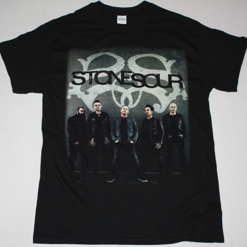 STONE SOUR TOUR 2018 NEW BLACK T-SHIRT