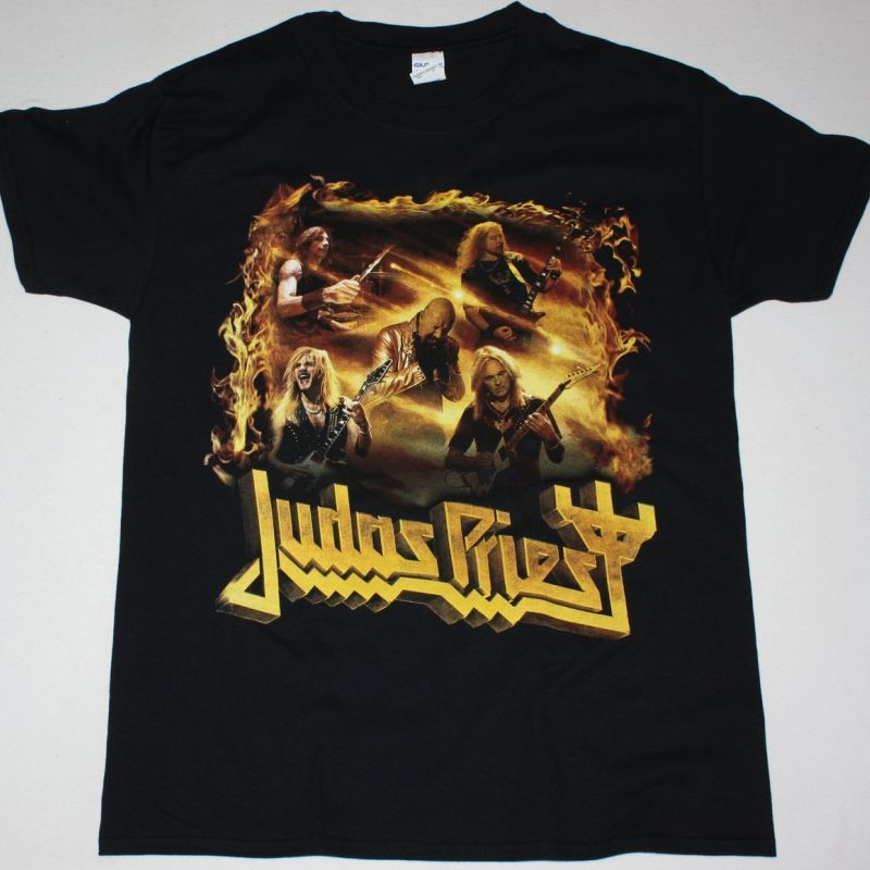 JUDAS PRIEST TOUR 2018 NEW BLACK T-SHIRT