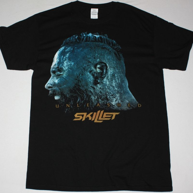 SKILLET THE UNLEASHED TOUR T SHIRT NEW BLACK T-SHIRT