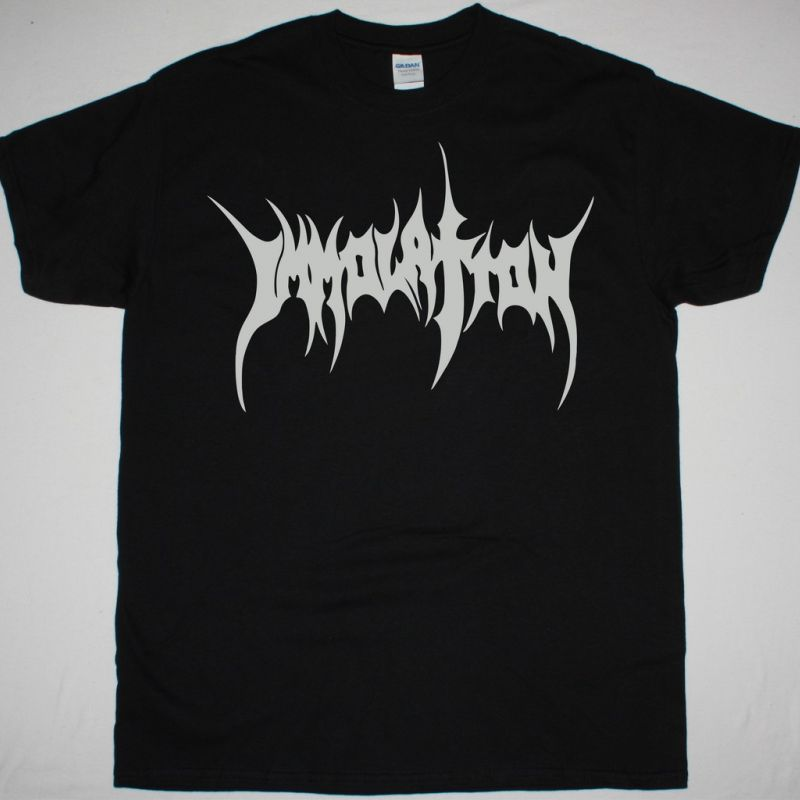 IMMOLATION LOGO NEW BLACK T-SHIRT