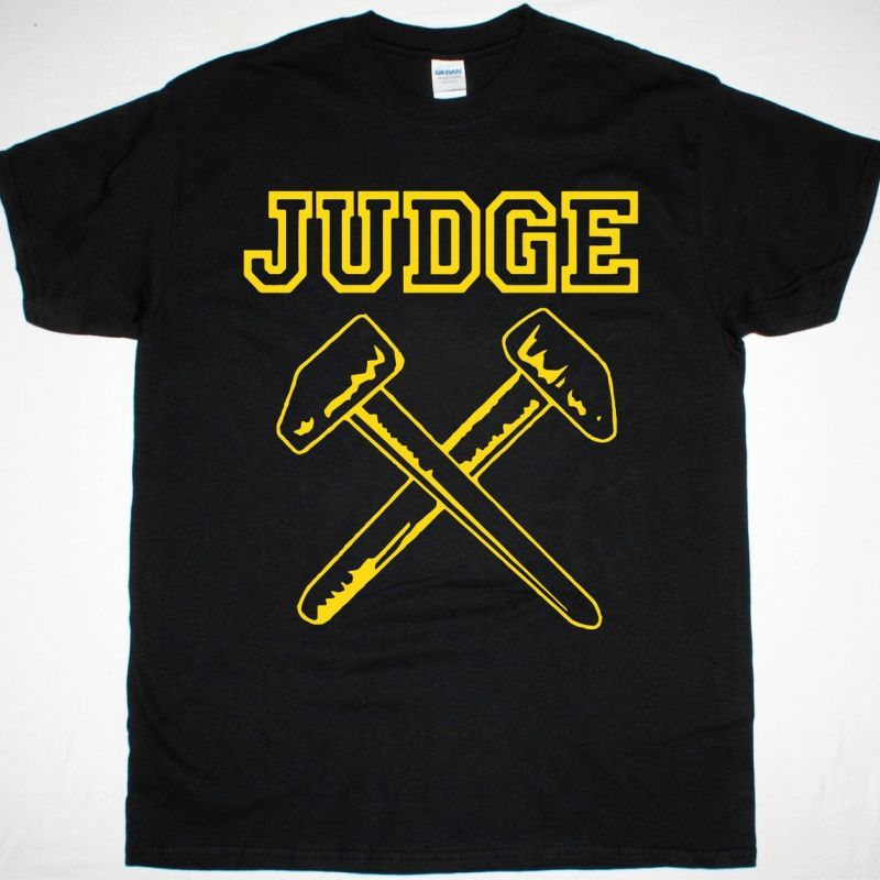 JUDGE HAMMERS NEW BLACK T SHIRT