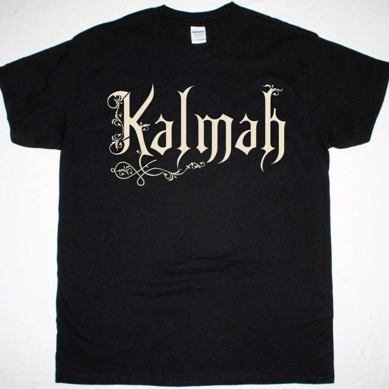 KALMAH LOGO NEW BLACK T-SHIRT