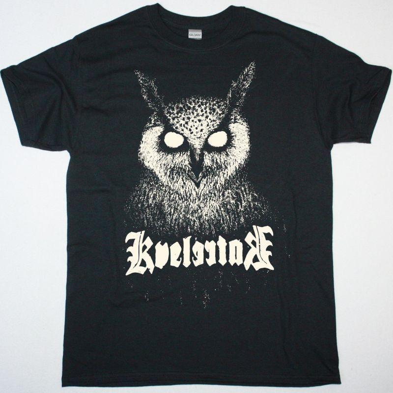 KVELERTAK OWL NEW BLACK T-SHIRT