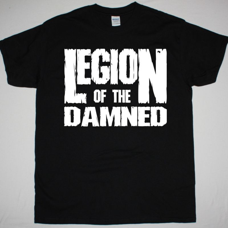LEGION OF THE DAMNED LOGO NEW BLACK T-SHIRT