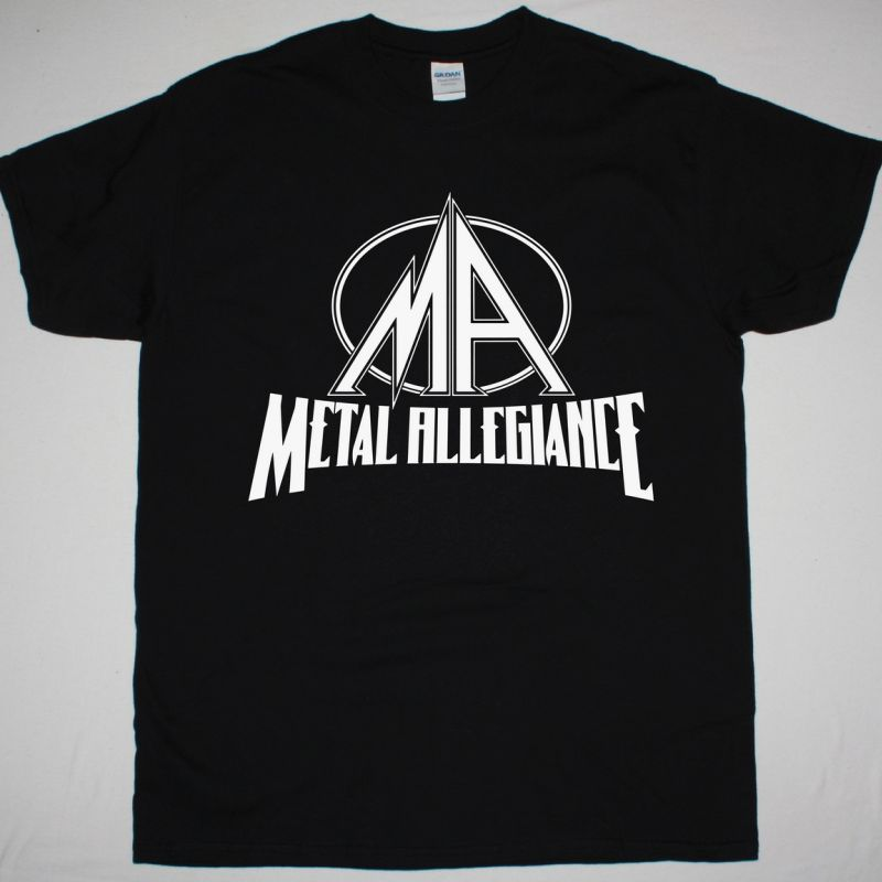 METAL ALLEGIANCE LOGO NEW BLACK T SHIRT