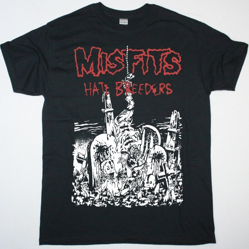 MISFITS HATEBREEDERS NEW BLACK T SHIRT