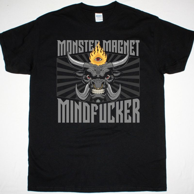 MONSTER MAGNET MINDFUCKER NEW BLACK T-SHIRT