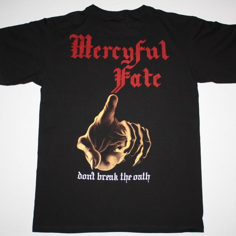 MERCYFUL FATE DON'T BREAK THE OATH'84 NEW BLACK T-SHIRT