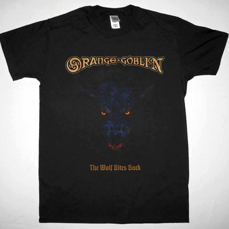 ORANGE GOBLIN THE WOLF BITES BACK NEW BLACK T-SHIRT