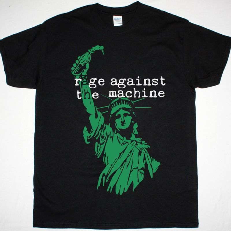 RAGE AGAINST THE MACHINE LIBERTY NEW BLACK T-SHIRT