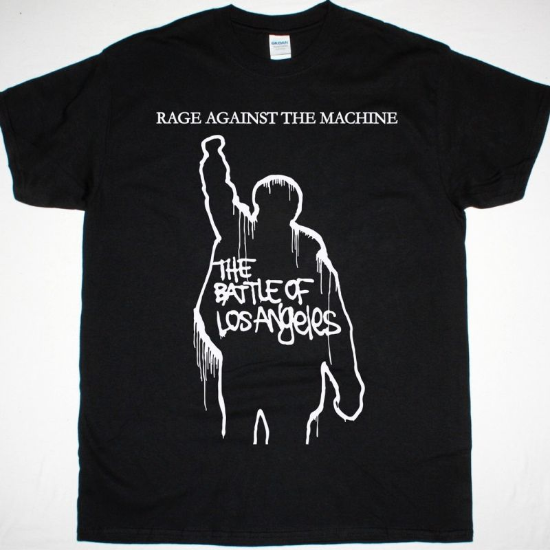 RAGE AGAINST THE MACHINE THE BATTLE OF LOS ANGELES TOUR NEW BLACK T-SHIRT
