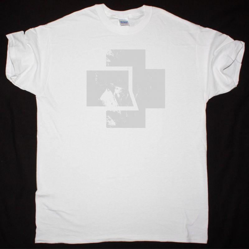 RAMMSTEIN LOGO NEW WHITE T-SHIRT