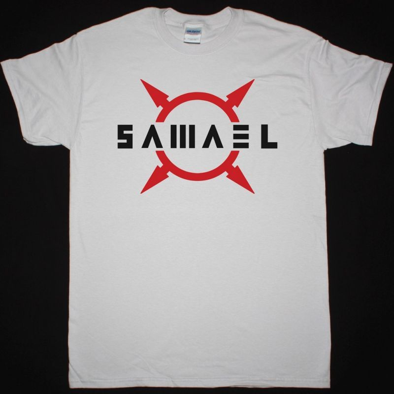 SAMAEL LOGO NEW ICE GREY T-SHIRT