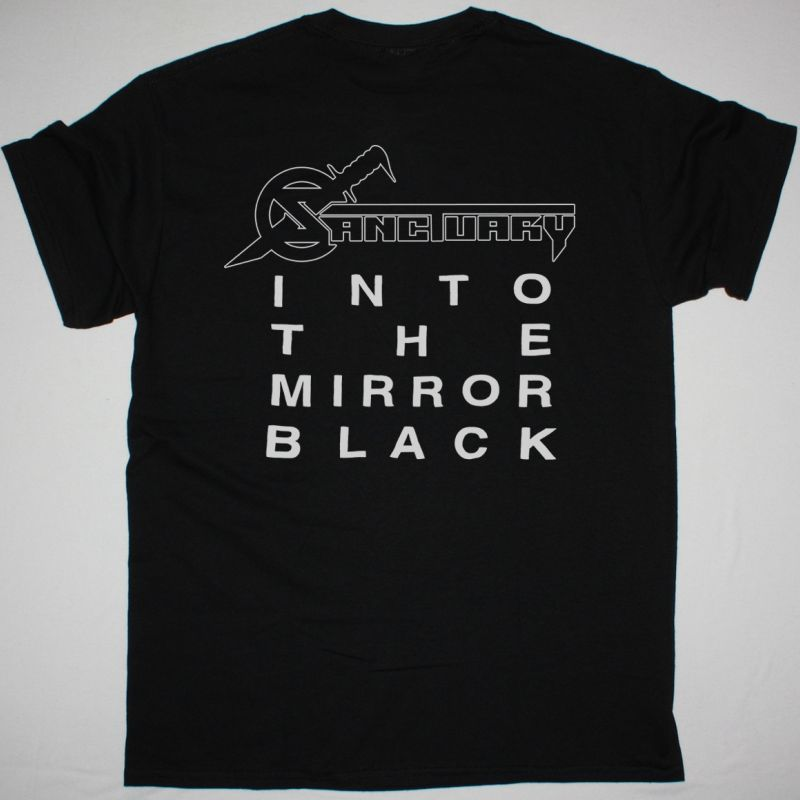 SANCTUARY INTO THE MIRROR BLACK NEW BLACK T-SHIRT