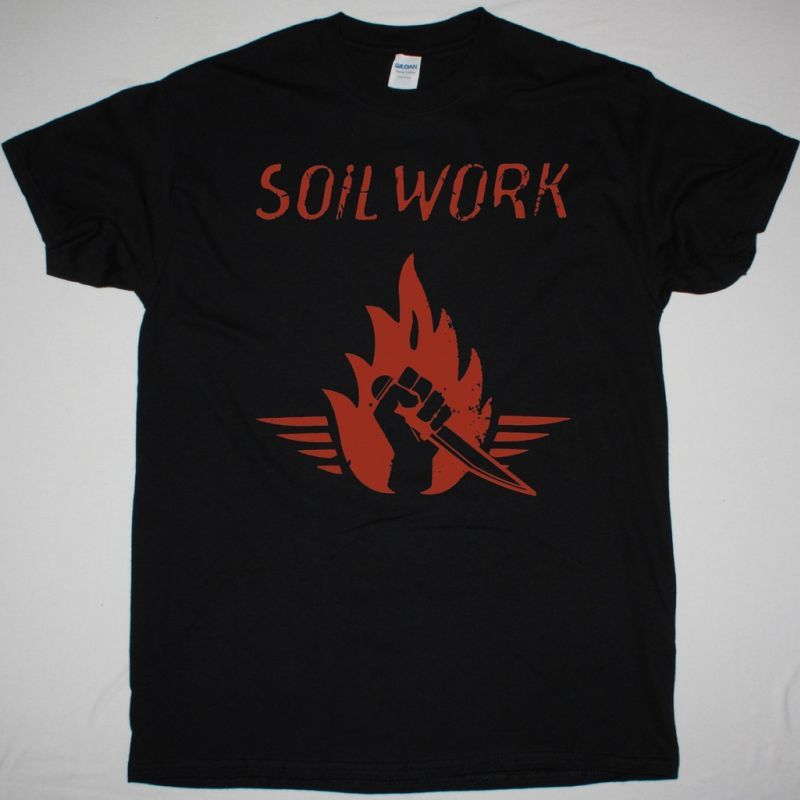 SOILWORK STABBING THE DRAMA NEW BLACK T-SHIRT