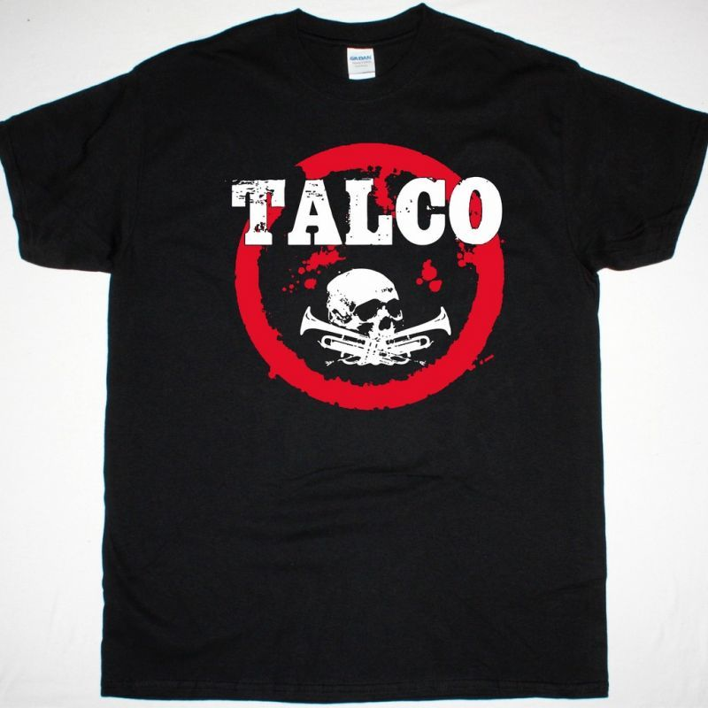 TALCO TALCOPATCHANKA NEW BLACK T-SHIRT