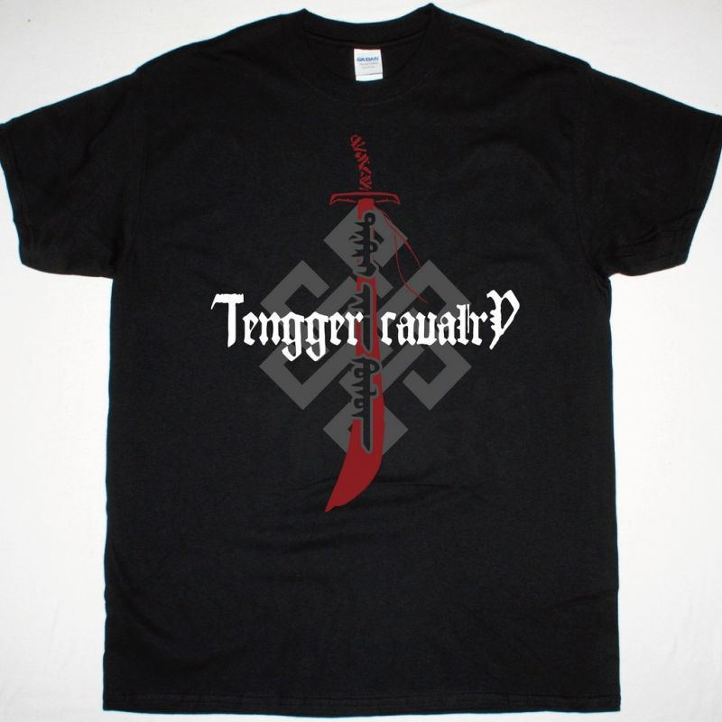 TENGGER CAVALRY KAHAAN BLADE NEW BLACK T-SHIRT