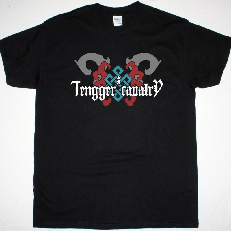 TENGGER CAVALRY NOMADIC BLESSING NEW BLACK T-SHIRT