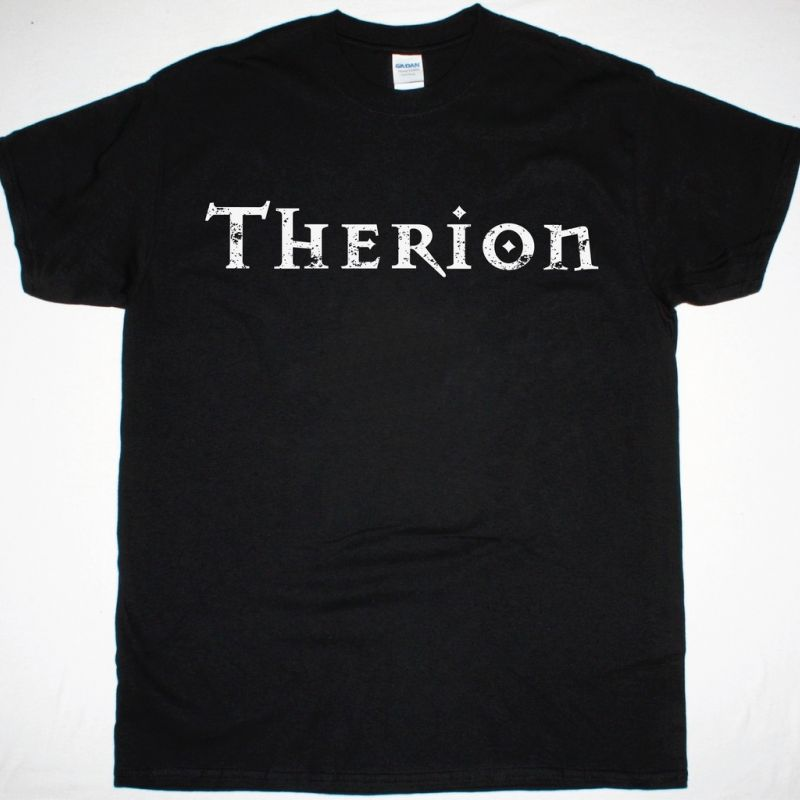 THERION LOGO NEW BLACK T-SHIRT