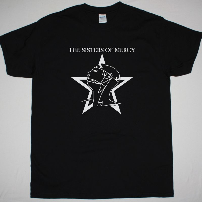 THE SISTERS OF MERCY LOGO NEW BLACK T-SHIRT