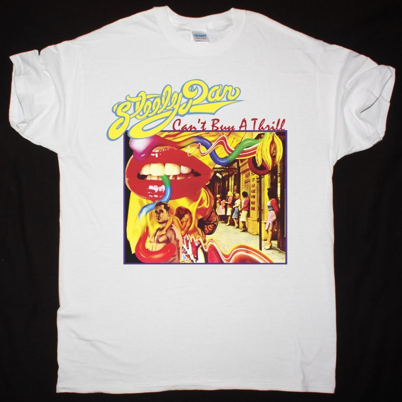 STEELY DAN CAN'T BUY A THRILL 1972 NEW WHITE T SHIRT