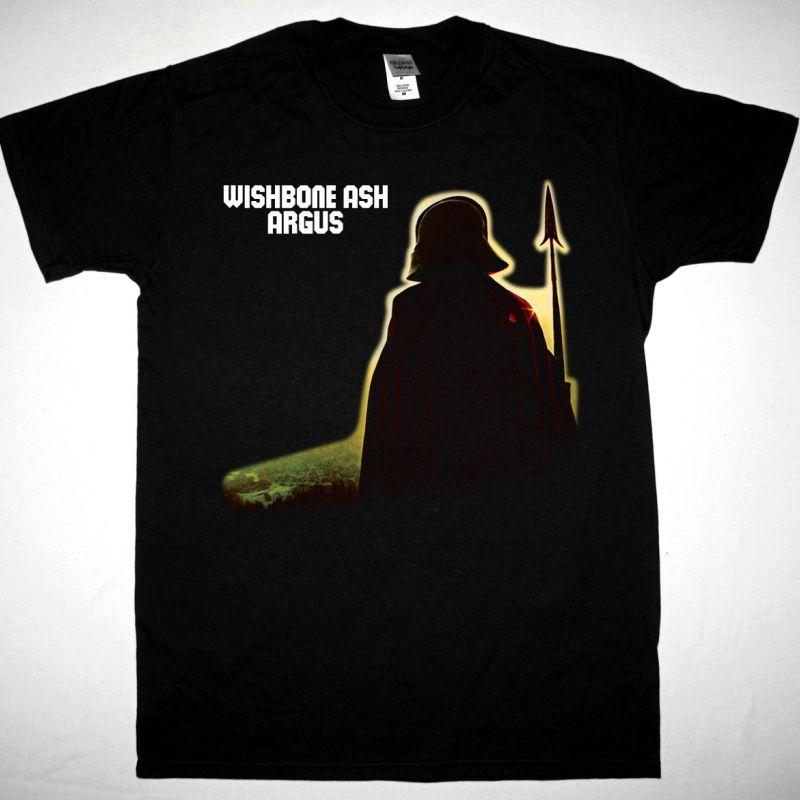 WISHBONE ASH ARGUS 1972 NEW BLACK T SHIRT