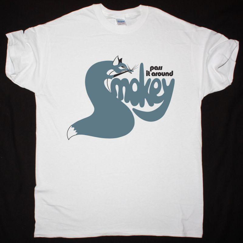 SMOKIE PASS IT AROUND 1975'S SMOKEY NEW WHITE T-SHIRT