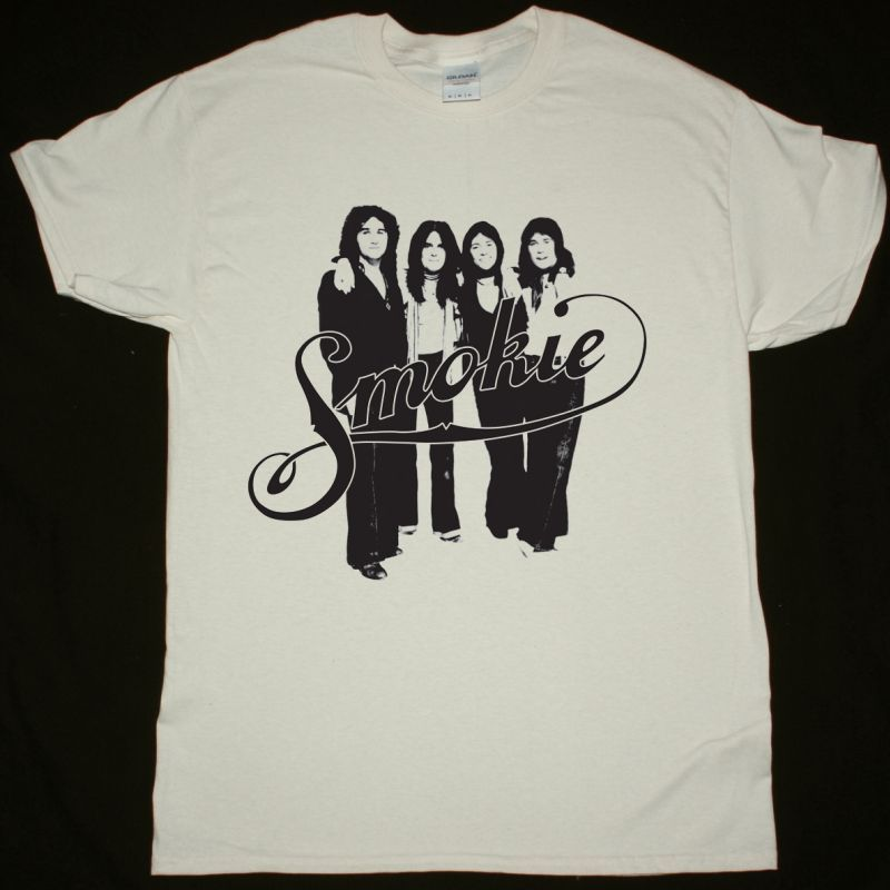 SMOKIE BAND NEW NATURAL T-SHIRT