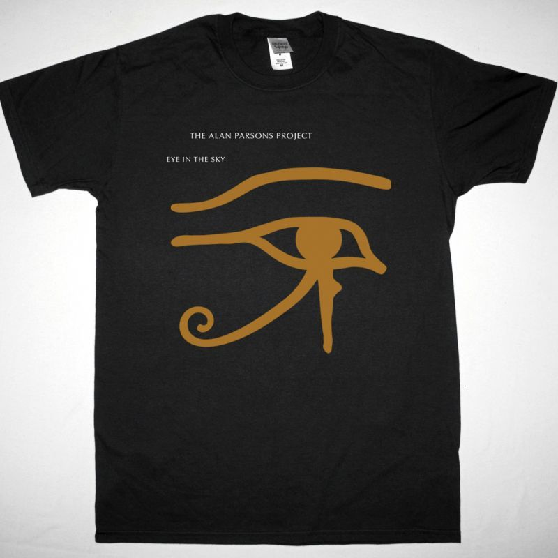THE ALAN PARSONS PROJECT EYE IN THE SKY 1982 NEW BLACK T-SHIRT