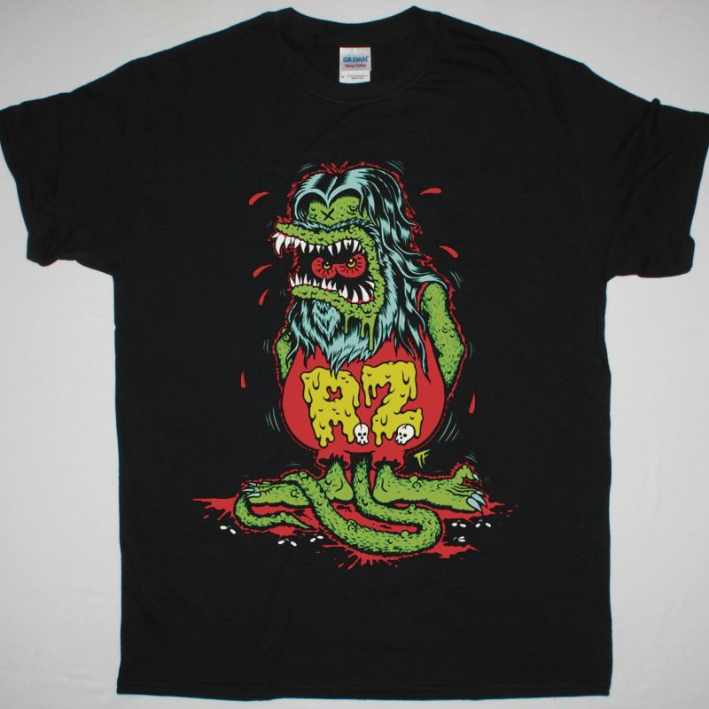 ROB ZOMBIE ZOMBIE FIN NEW BLACK T SHIRT