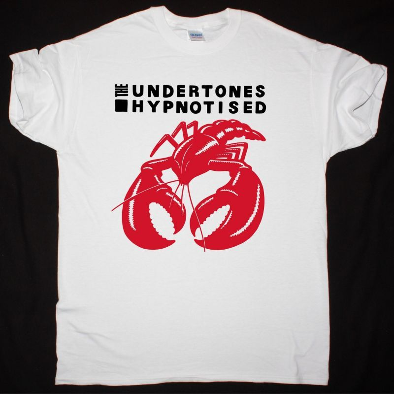 THE UNDERTONES HYPNOTISED 1980 NEW WHITE T SHIRT
