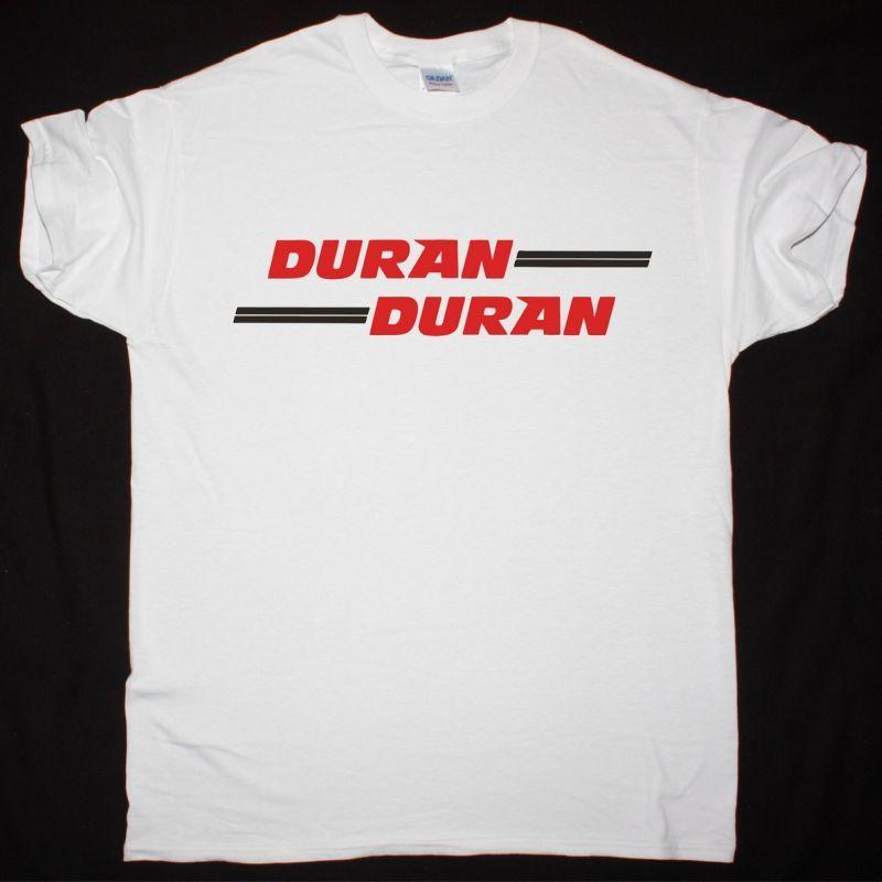 DURAN DURAN 1981 LOGO NEW WHITE T-SHIRT