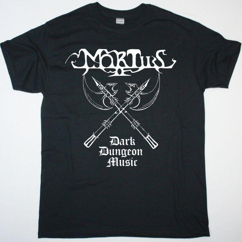 MORTIIS DARK DUNGEON MUSIC NEW BLACK T-SHIRT
