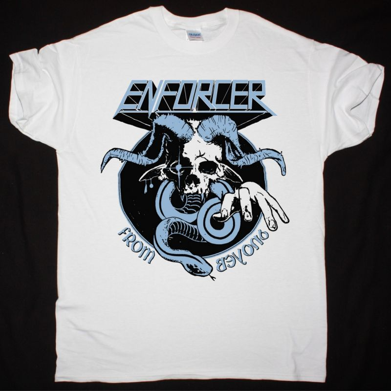 ENFORCER FROM BEYOND NEW WHITE T SHIRT