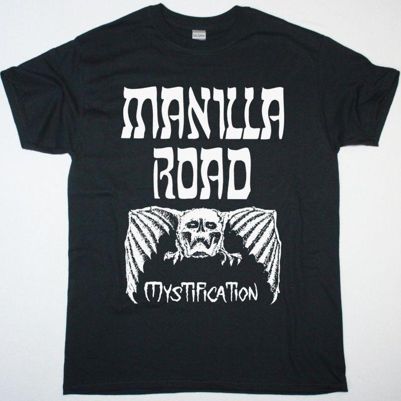 MANILLA ROAD MYSTIFICATION NEW BLACK T-SHIRT