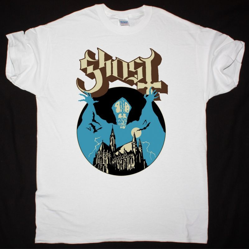 GHOST OPUS EPONYMOUS NEW WHITE T-SHIRT
